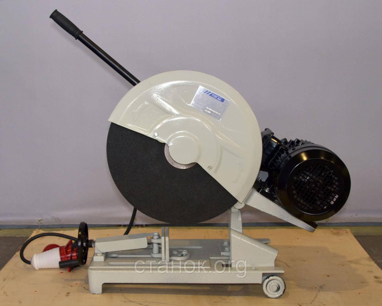 FDB Maschinen GYQ 400 HP / 380 с колесами пила монтажная с абразивным диском отрезной станок фдб машинен