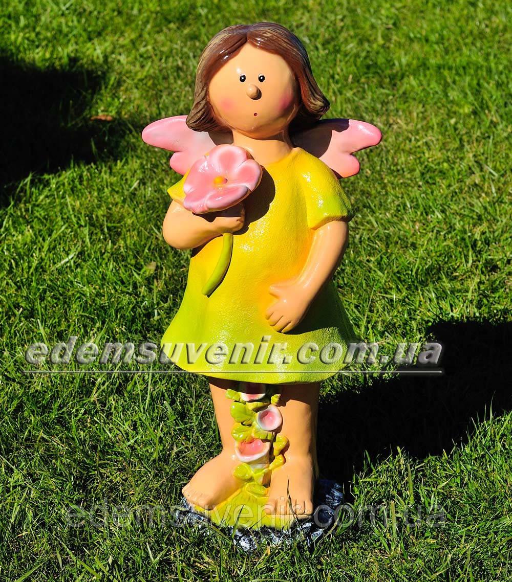 Садовая фигура Фея цветочная большая