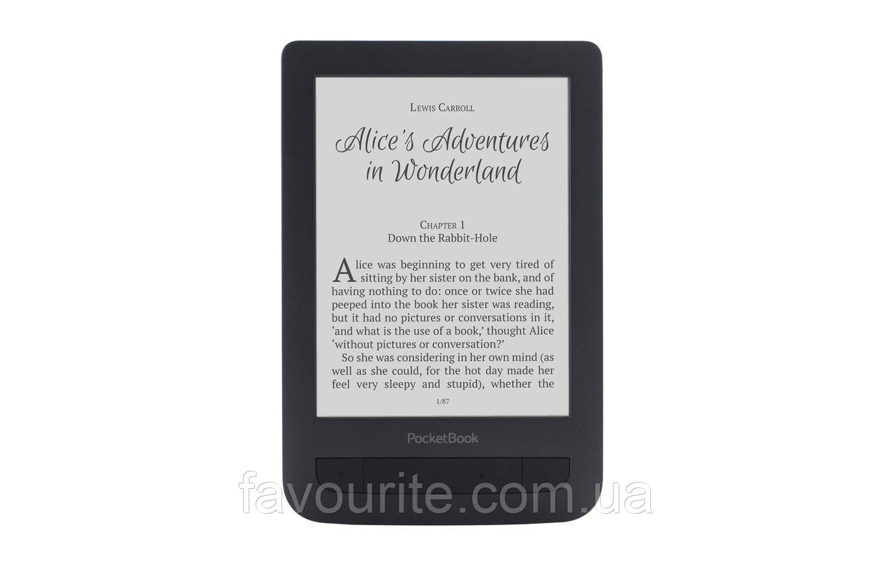 PocketBook 625 Basic Touch 2 Black