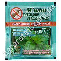 Таблетки от моли с запахом мяты Global 10 шт
