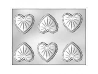 Молд для мастики и шоколада  Хрустальное сердце(код 03680)