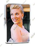 Зажигалка бензиновая «Scarlett Johansson»