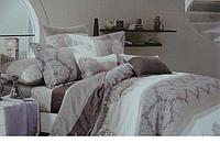 Сатиновое постельное белье евро ELWAY 4044