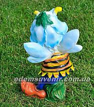 Садовая фигура Мотылек с лейкой, фото 3