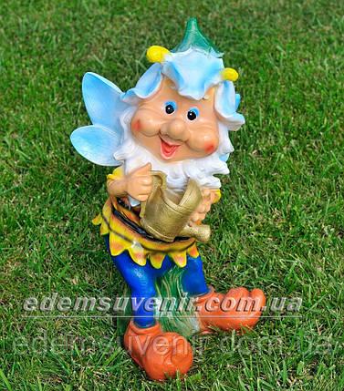Садовая фигура Мотылек с лейкой, фото 2