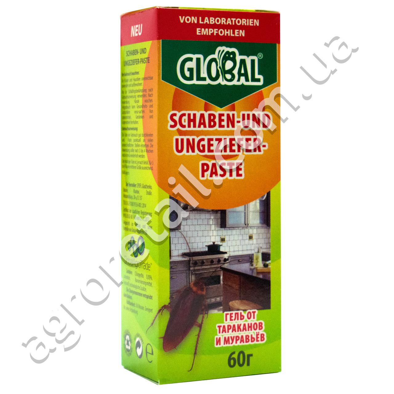 Гель от тараканов и муравьев Global 60 г