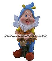 Садовая фигура Мотылек с ведром, фото 2