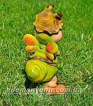 Садовая фигура Мотылек с клубникой, фото 3