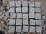Гранитная брусчатка, гранитная плитка тротуарная , фото 2