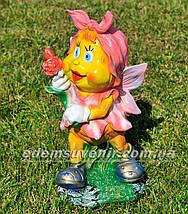 Садова фігура Метелик з трояндою, фото 2