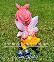Садова фігура Метелик з трояндою, фото 3