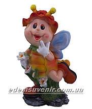 Садовая фигура Мотылек с лилией, фото 2