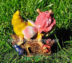 Садовая фигура Веселая цыкада, фото 3