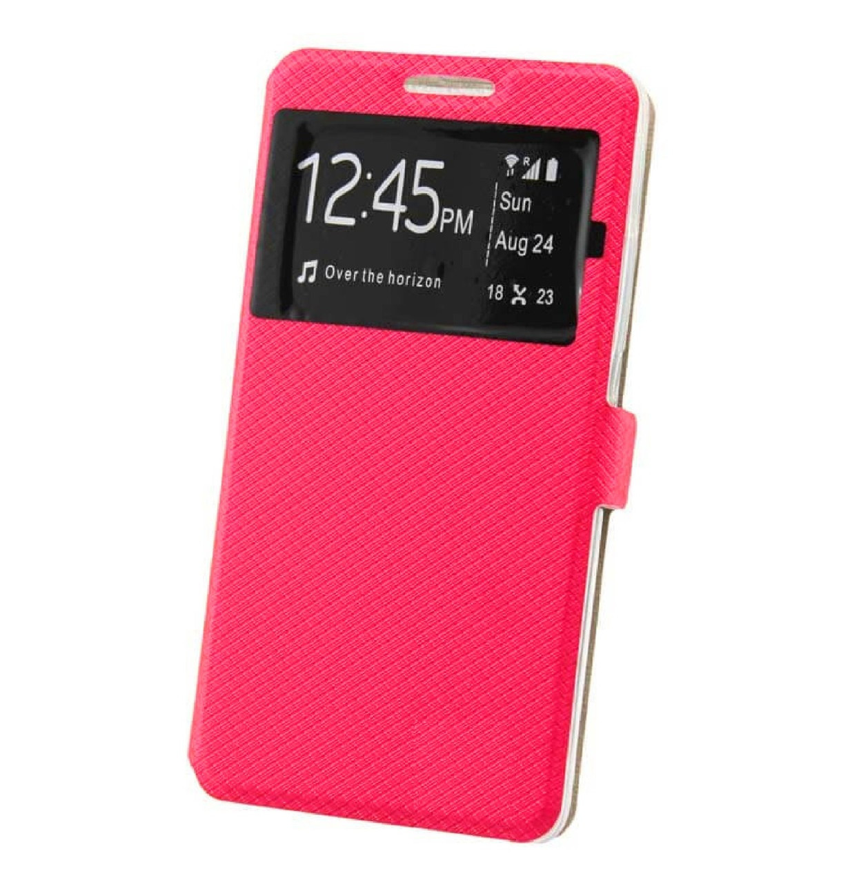 Чехол-книжка Modern Window Style для Huawei Y6 Pro Pink