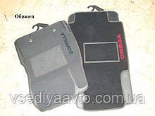 Коврики  ворсовые на  MG5 чёрный с 2013> АКП-МКП