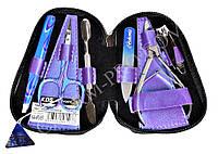 Набор маникюрный KDS 04-8103 (Фиолетовый)