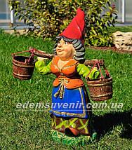 Садовая фигура цветочник Фиона, фото 2