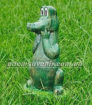 Садовая фигура Крокодил Гена, фото 2