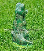 Садовая фигура Крокодил Гена, фото 3