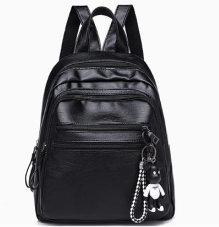 Рюкзак женский городской из кожзама Jenna черный