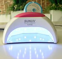 Лампа UV LED Sun 2C  48 W  для маникюра с металлическим дном профессиональная сушка для ногтей Оригинал!