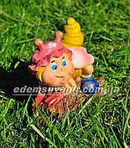 Садовая фигура Веселая цикада, фото 3