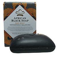 Африканское чёрное мыло Нубийское Наследие,  Nubian Herritage, 140 г, фото 1
