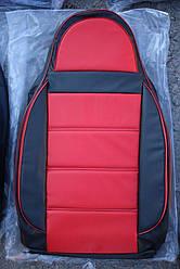 Чехлы на сиденья Опель Омега (Opel Omega) (универсальные, кожзам/автоткань, пилот)