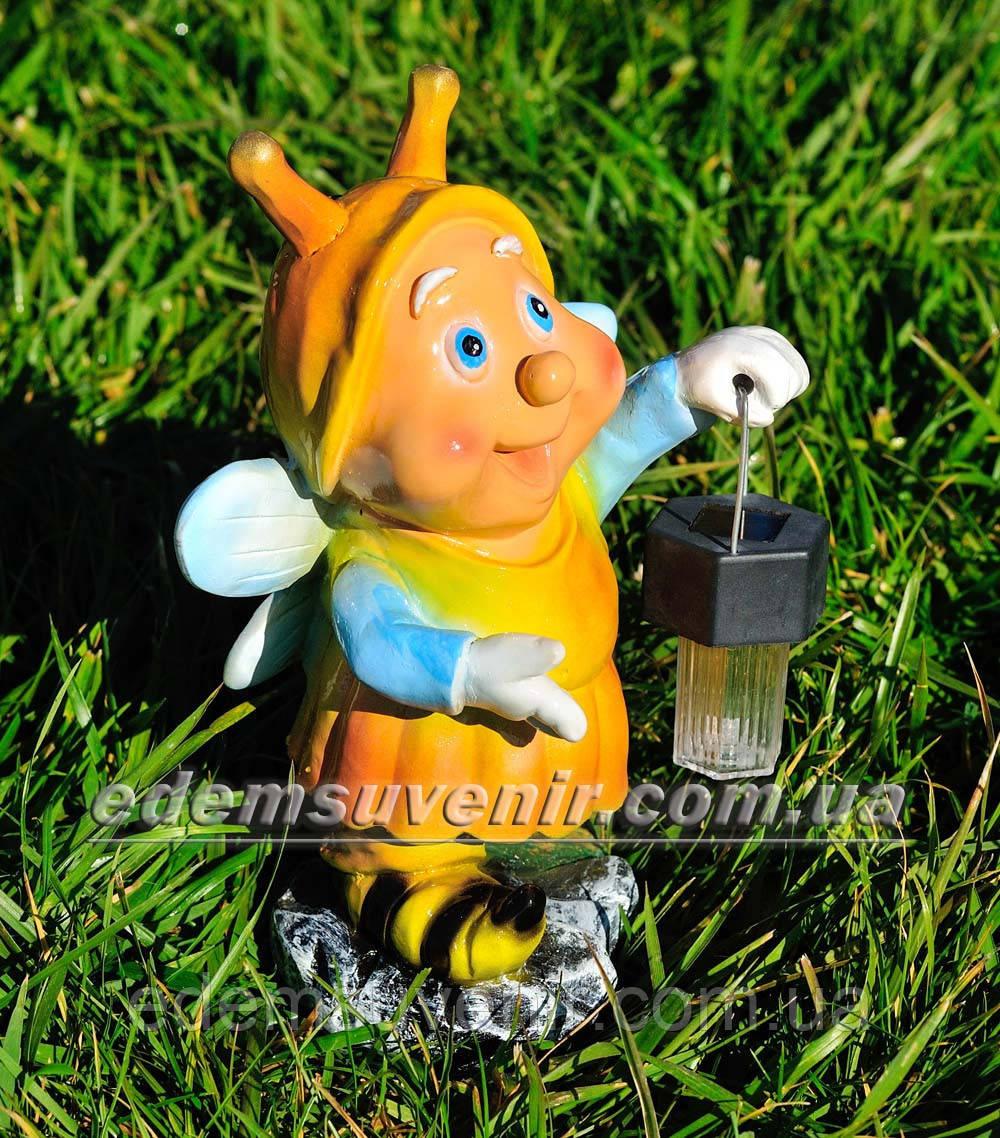 Садовая фигура Букашка с фонарем
