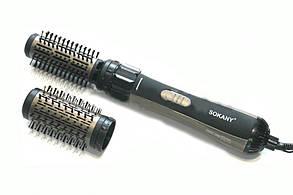 Стайлер расческа для укладки волос Sokany
