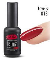 PNB Гель лак №013 Love is 8 ml