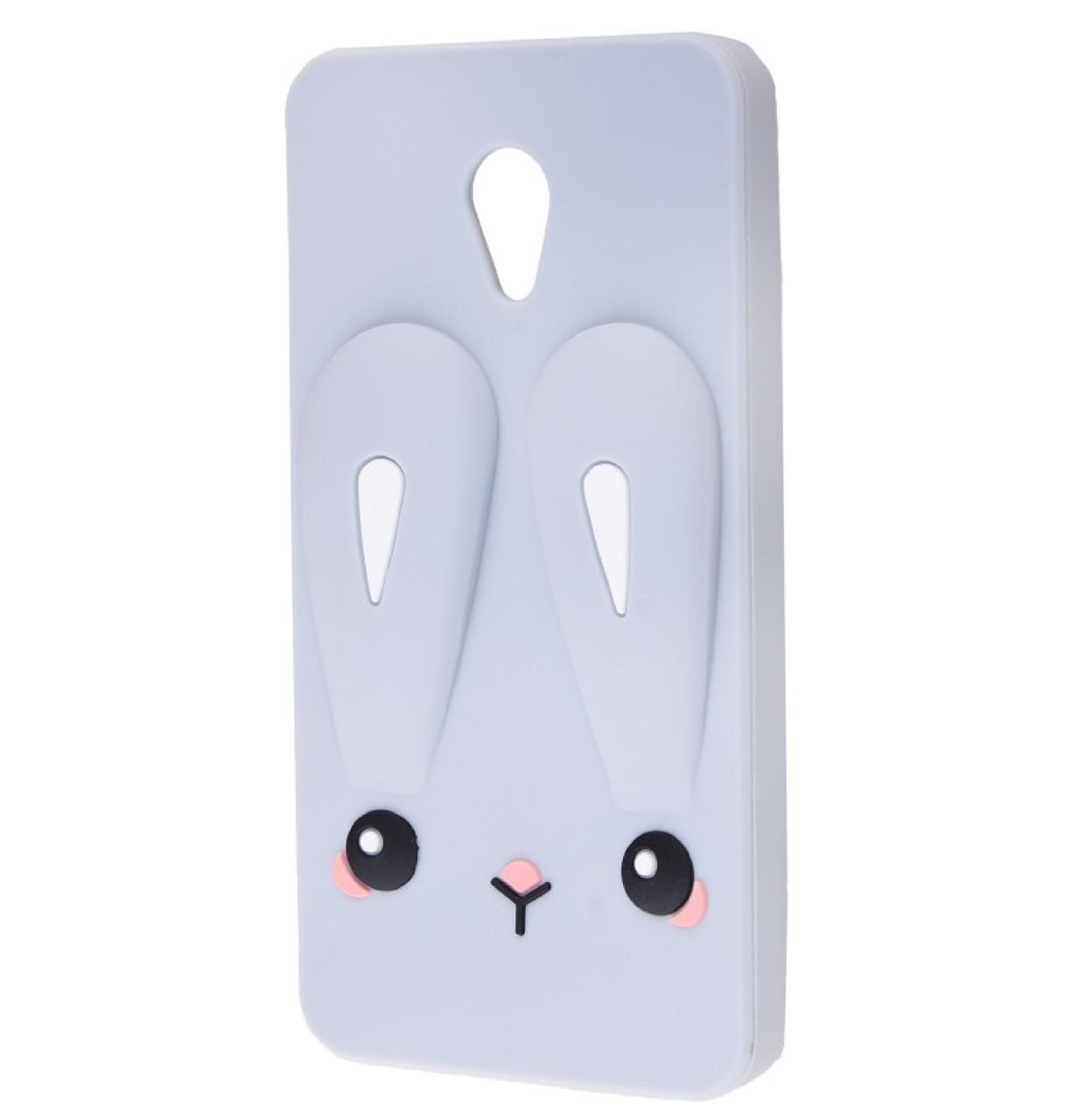 Чехол-накладка TPU Rabbit для Meizu M5c Grey