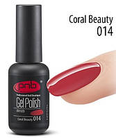 PNB Гель лак №014 Coral beauti 8 ml