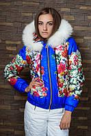 Женская лыжная термокуртка  СПОРТ