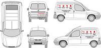 Брендування та поклейка автомобільною плівкою транспорту