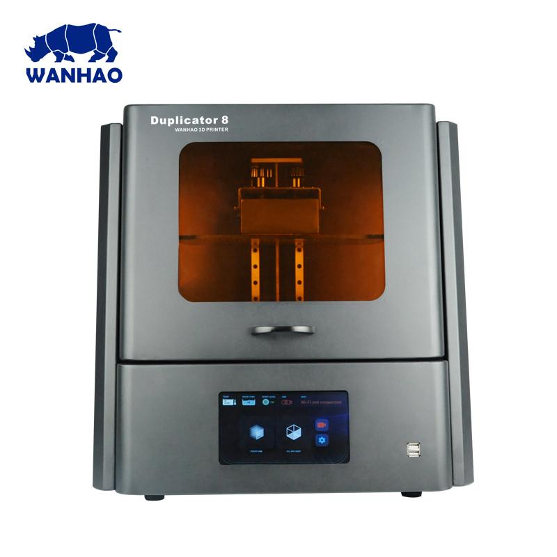 Принтер для 3D друку Wanhao Duplicator D8 фотополімерний SLA LCD + вбудований дисплей і скло для ревізії