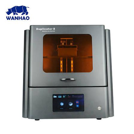 Принтер для 3D друку Wanhao Duplicator D8 фотополімерний SLA LCD + вбудований дисплей і скло для ревізії, фото 2