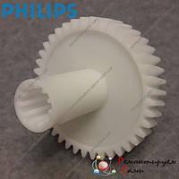 Шестерня для мясорубки Philips HR2730, HR2733 приводная, фото 1