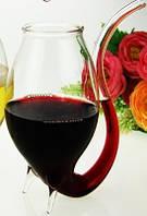 Бокал для вина и коктейлей с трубочкой, фото 1