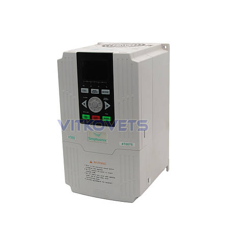 Инвертор Simphoenix V350-4T0075, 7.5KW 17A 380V, фото 2