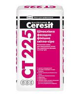 Шпаклевка фасадная Ceresit CT-225, белая, 25 кг