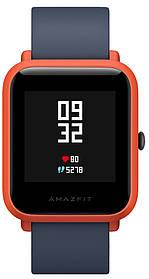 Умные часы Sport watch Xiaomi Amazfit bip lite Youth Edition (Black/Red) Гарантия 12 месяцев