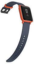 Умные часы Sport watch Xiaomi Amazfit bip lite Youth Edition (Black/Red) Гарантия 12 месяцев, фото 3