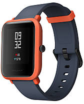 Умные часы Sport watch Xiaomi Amazfit bip lite Youth Edition (Black/Red) Гарантия 12 месяцев, фото 2