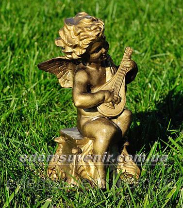 Фигура Ангелок с лютней, фото 2