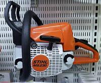 Stihl MS 230 - выносливая бензопила хобби класса.