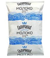 Поставщик молока Галичина 0,9мл 2,5 % в Киеве