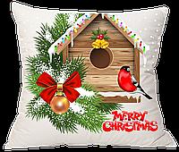 Подушка новогодняя пошив