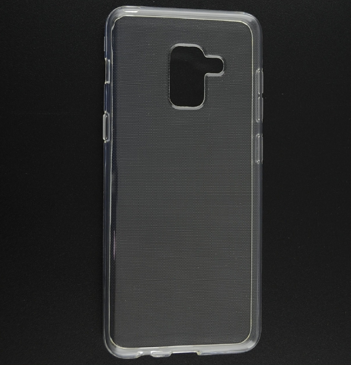 Силиконовый чехол Ultra-thin на Samsung Galaxy A6 (2018) SM-A600F Clean Grid Transparent