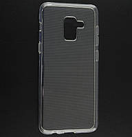 Силиконовый чехол Ultra-thin на Samsung Galaxy A6 (2018) SM-A600F Clean Grid Transparent, фото 1